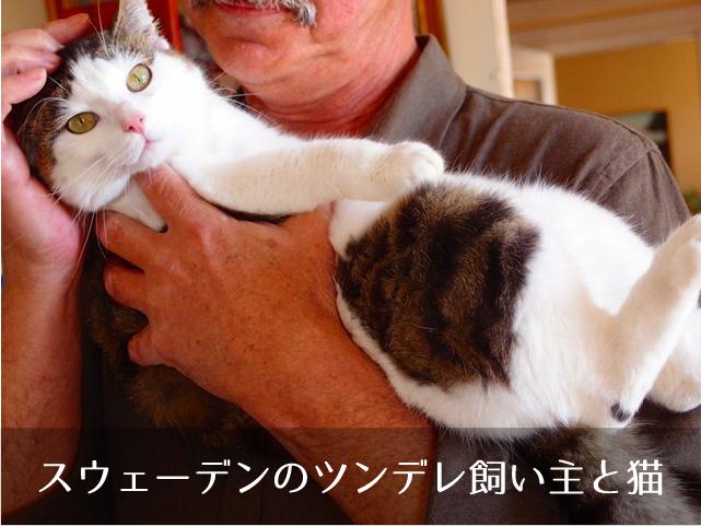 スウェーデンoツンデレ飼い主と猫